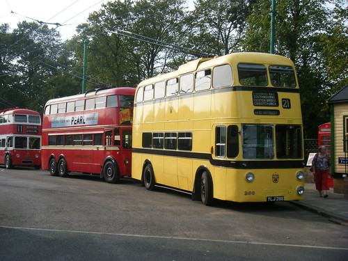 Bournemouth, London and Belfast trolleybuses at EATM