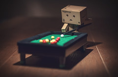 Pool Party. (Matt_Briston) Tags: danbo robot pool table nikon d90 robopool matt cooper