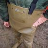 Chameau-oliv-Baustelle2847.B (Kanalgummi) Tags: sewer exploration rubber waders chestwaders wathose worker égoutier kanalarbeiter bomber jacket bomberjacke