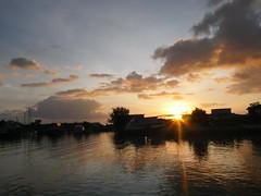 Sunset, Kiribati!