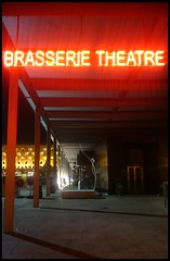 Brasserie Theatre, Grand Théâtre de la Ville de Luxembourg (Wagsy Wheeler) Tags: luxembourg luxembourgcity neon sign neonsign theatre brasserie brasserietheatre grandthéâtredelavilledeluxembourg degroussentheater night nighttime red architecture lights