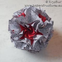 Drawing conclusions  (K16040) (Origami Spirals) Tags: curler twirl spiral fold paper burczyk origami folding art krysbur