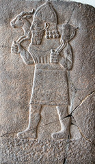 Carrying a goat (Nick in exsilio) Tags: pergamonmuseum berlin assyrian archaeology