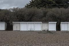 dscf2888 (LaurenceTucker) Tags: beach littlehampton angmering nye desaturated bleak beachhut hut