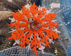 Squirt ornament (BarryFackler) Tags: christmasdecorations christmasornaments christmas merrychristmas acehardware acehardwarestore contest competition hardwarestore kealakekuaranchcenter shoppingcenter store captaincookhawaii findingnemo yule yuletide noel 2016 disney disneycharacters animation animatedcharacters squirt turtle ornament christmasornament seaturtle net coral netting barryfackler barronfackler homemadeornament disneyornament disneypixar captaincookhi holidayseason squirtornament retailstore christmasspirit