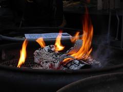 Comforting Warmth (m_artijn) Tags: fire wood flame lange voorhout den haag nl barrel drum christmas