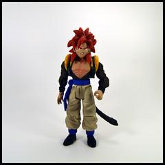 Gogeta [Super Saiyan 4] (Corey's Toybox) Tags: actionfigure figure toy anime dragonballgt dbgt goku supersaiyan4 ss4 gogeta fusion