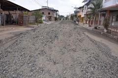 Trabajos para adoquinar calle Elio Santos Macay (GadChoneEC) Tags: trabajos adoquinar calle eliosantosmacay alejolascano malecón río barrio sanfelipe chone manabí ecuador