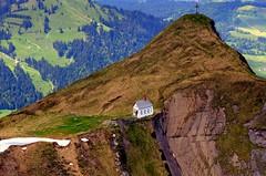 The Chapel on Klimsenhorn (annalisabianchetti) Tags: chapel cappella mountains montagne alps switzerland svizzera church chiesetta paesaggio landscape