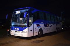 Wycombe Wanderers F.C. Team Coach (5asideHero) Tags: wycombe wanderers fc motts travel mercedes benz tourismo uk15 cru