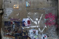 Rue Broca - Paris (France) (Meteorry) Tags: europe france idf îledefrance paris ruebroca broca street rue art artderue fresque painting jérômemesnager mesnager wall mural graffiti hommeblanc hommeenblanc corpblanc october 2016 meteorry paris5earrondissement