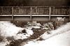 Brücke über die Wuhle (naturlicht) Tags: winter canon ae1 fd 70210 apx 100 ultrafine tplus canoscan 8800f vuescan eis wuhle monochrome brücke