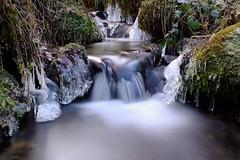 Cascade d'hiver (en couleur) (jpto_55) Tags: cascade eau hiver pyrénées ariège france poselongue xe1 fuji fujixf1855mmf284r fujifilm