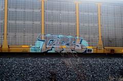 tars (timetomakethepasta) Tags: tars aa crew freight train graffiti art autorack virus lurker stelth