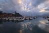 Lerici. The Clouds into the sea (moniq84) Tags: liguria sunrise sunrises sunset sunsets sun clouds sole nuvole tramonto lerici castle riviera levante la spezia tigullio