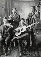Mariachi Band (~ Lone Wadi ~) Tags: globearizona arizonaterritory mariachiband latino hispanic musicians mexican portrait americansouthwest retro unknown