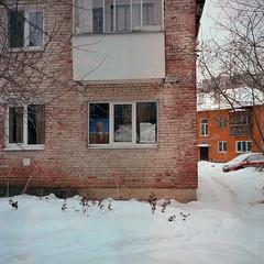 Scan-170108-00151 (Anton Novoselov) Tags: lenin portrait ussr soviet union ekaterinburg russia film medium format rolleiflex kodak ektar 100