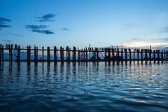 U-Bein bridge, Mandalay (mgirard011) Tags: asie lieux myanmarbirmanie mandalay amarapura mandalayregion mm 100faves