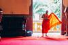 Beyond the light (Kasab.Raca) Tags: monk light orange temple buddhism thailand asia bangkok religion architecture buddha sunset buddhist culture building travel