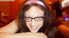 January 2017 (emilyproudley) Tags: crossdresser cd tv tvchix tranny trans transvestite transsexual tgirl tgirls convincing dress feminine girly cute pretty sexy transgender xdresser highheels gurl glasses indoor pink