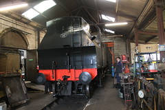 41313 in the workshop at Cranmore