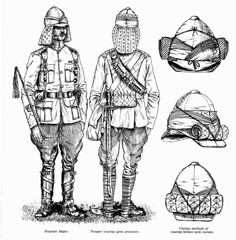 Lancers Sergeant Major & Trooper Uniform 21st Lancers (roydutton) Tags: dervish omdurman 21st lancers weapons forgotten heroes charge roy dutton uniform