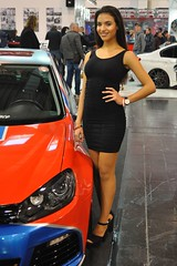 Essen Motorshow 2016 (Transaxle (alias Toprope)) Tags: auto autos car cars coche coches carro carros macchina macchine voiture voitures soul beauty power toprope promotion promo woman dress black pretty hostess girl babe cute model smile sexy hot arab nice amazing teen beautiful event convention