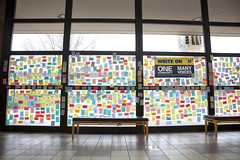 021517_WriteOnWall_02 (Michigan Engineering) Tags: annarbor usa faculty students staff community togetherness window day 2017 duderstadt northcampus international inclusion umich michigan michiganengineering collegeofengineering um wolverines diversityequityinclusion horizontalframing support internationalstudents
