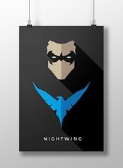 Nightwing (marciorodgs) Tags: nightwing robin universo marvel dc liga justiça pôster cartaz cartazes design plano ilustração ilustrações desenho desenhos comics quadrinho quadrinhos super herói heróis vilão vilões xmen pôsteres