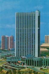 Pyongyang Youth Hotel (Tom Peddle) Tags: dprk north korea korean northkorea northkorean postcards tourism photos buildings socialist pyongyang youth hotel pyongyangyouthhotel