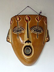 Open Wide (knightbefore_99) Tags: mask cool open wide indian aztec awesome rincon guayabitos mexico art mexican randy decameron hotel nayarit west coast beach