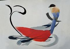 maybe spring (skizo39) Tags: collage layers art digitalprocessing digitalart digitalpainting photomanipulation colors colorful graphical design creation artistic bird pajaro passaro vogel