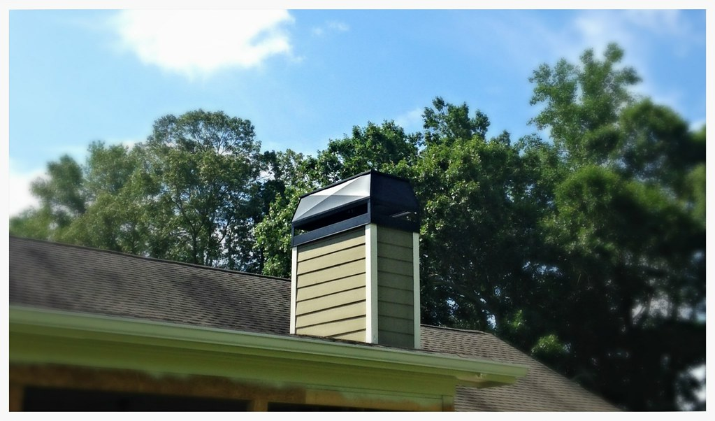 Custom chimney chase top, Hixson, Tn.