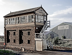 """signal box • <a style=""""font-size:0.8em;"""" href=""""http://www.flickr.com/photos/75475694@N00/156753704/"""" target=""""_blank"""">View on Flickr</a>"""