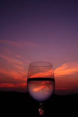 Sunset with wine - by Daybis