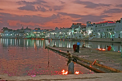 Holy Lake (ashitparikh) Tags: lake pushkar rajasthan lpfestasiapacific