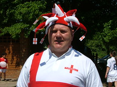 England football fan
