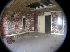 Karate Room in Fisheye (SNWEB.ORG Photography, LLC.) Tags: city sky urban distortion fish david building eye tower abandoned architecture mi skyscraper dark lens paul louis office downtown view angle decay michigan interior urbandecay detroit wide wideangle gone historic full fisheye explore 180 urbanexploration frame trespass mich historical eaton inside fieldofview column bld higgins fullframe exploration 1928 brod offices scraper bldg trespassing theodore ue abandonedbuilding fisheyelens 180degrees urbex urbanblight broderick downtowndetroit eatonbuilding waynecounty brodericktower louiskamper eatontower perspectiv davidbrodericktower broderickbuilding witherell mikehiggins kamper davidbroderick michaelhiggins witherellcorp witherellcorporation fisheyedistortion broderickbldg paulkamper theodoreeation officebuiling theodoreeatontowe 10witherell whaletower fullframefisheye