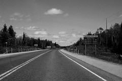 Speeding costs you (AnDy631) Tags: road summer sky cloud ontario car clouds speed highway manitoba route ciel autoroute t nuage nuages mb ete vitesse