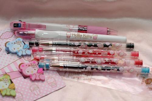 Hi-Tec-C pens, Hello Kitty fashion