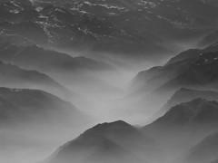 Misty Alps (sgrazied) Tags: bw italy mist mountains alps noiretblanc nebbia alpi montagna bwdreams italybw interphoto ratemybw425 ci33 frhwofavs