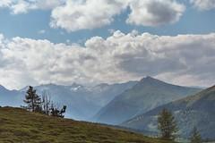 Lungau, Austria (monika & manfred) Tags: snow mountains salzburg clouds landscape austria high hiking mm lungau utataview