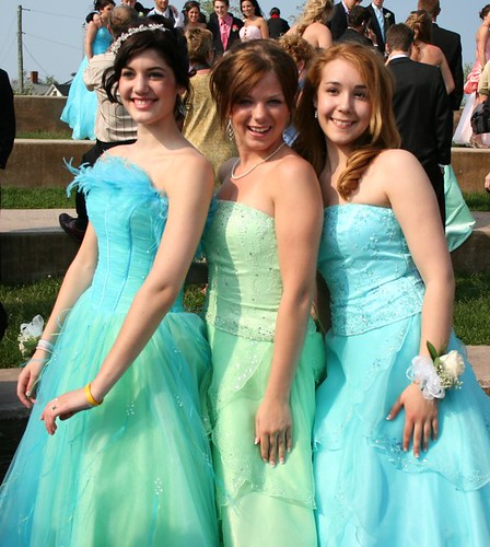 Prom Night Pretty Ladies Pretty Dresses 2006 Moncton New Brunswick