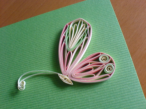 My favorite blog Antonella's Quilling, Art and Expression has a nice