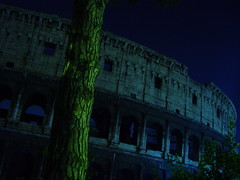 Amphitheatrum Flavium (pietroizzo) Tags: light italy roma night colosseum