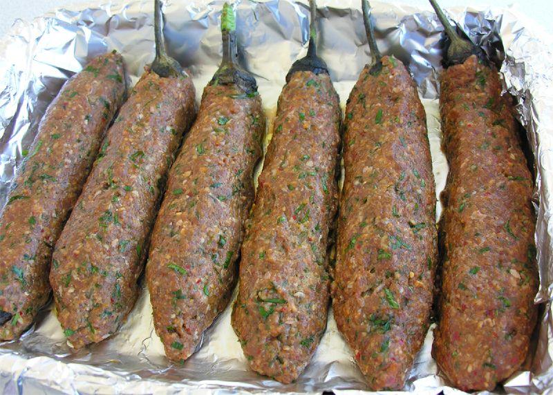 Patl�canl� k�fte kebab� tarifi