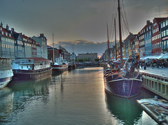 Nyhavn in Copenaghen (stebox78) Tags: river nyhavn explore 500 hdr canale copenaghen 10faves explore500