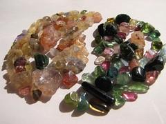 Yin and Yang (jaja_1985) Tags: macro closeup rocks yang minerals mineral yinyang yin sapphires tourmaline sapphire tourmalines