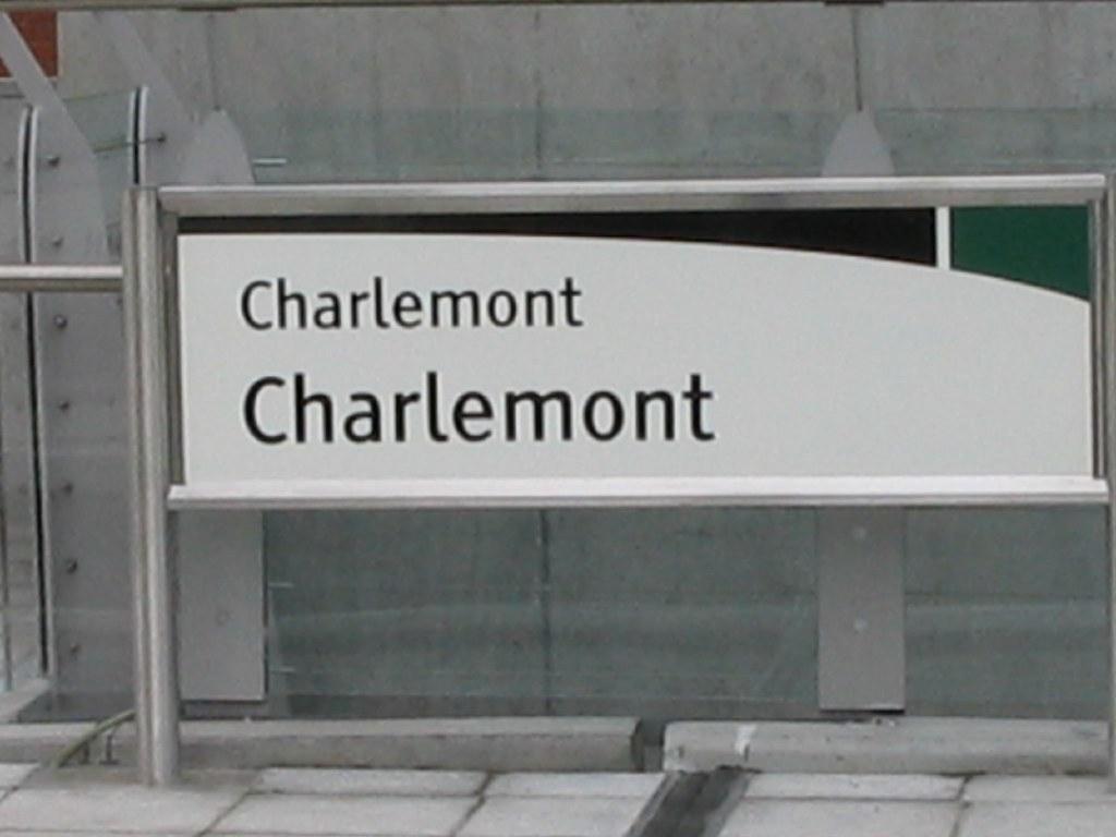 CHARLEMONT LUAS STOP