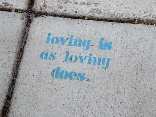 loving is as loving does